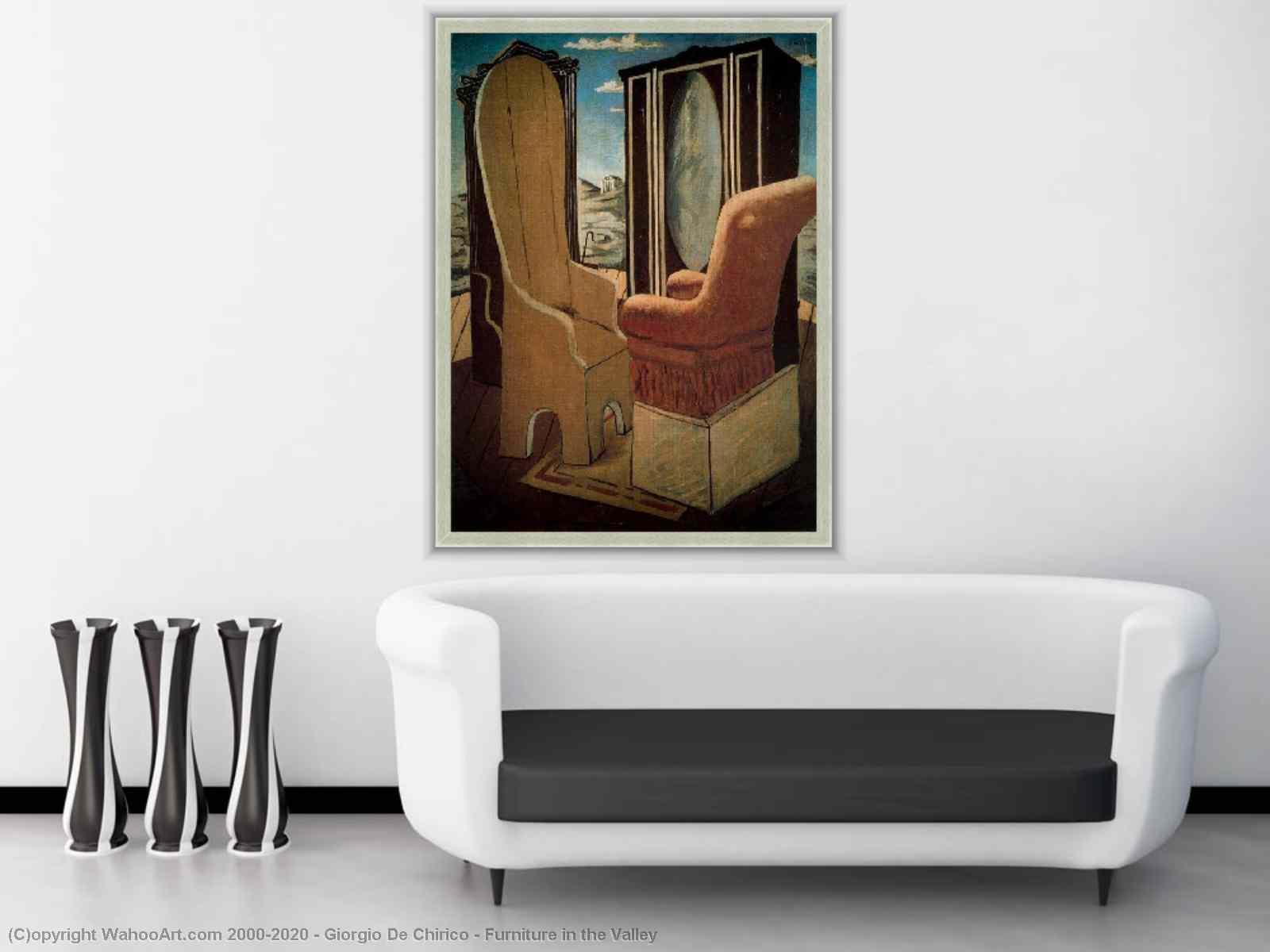 Muebles En El Valle De Giorgio De Chirico # Muebles Texturizados