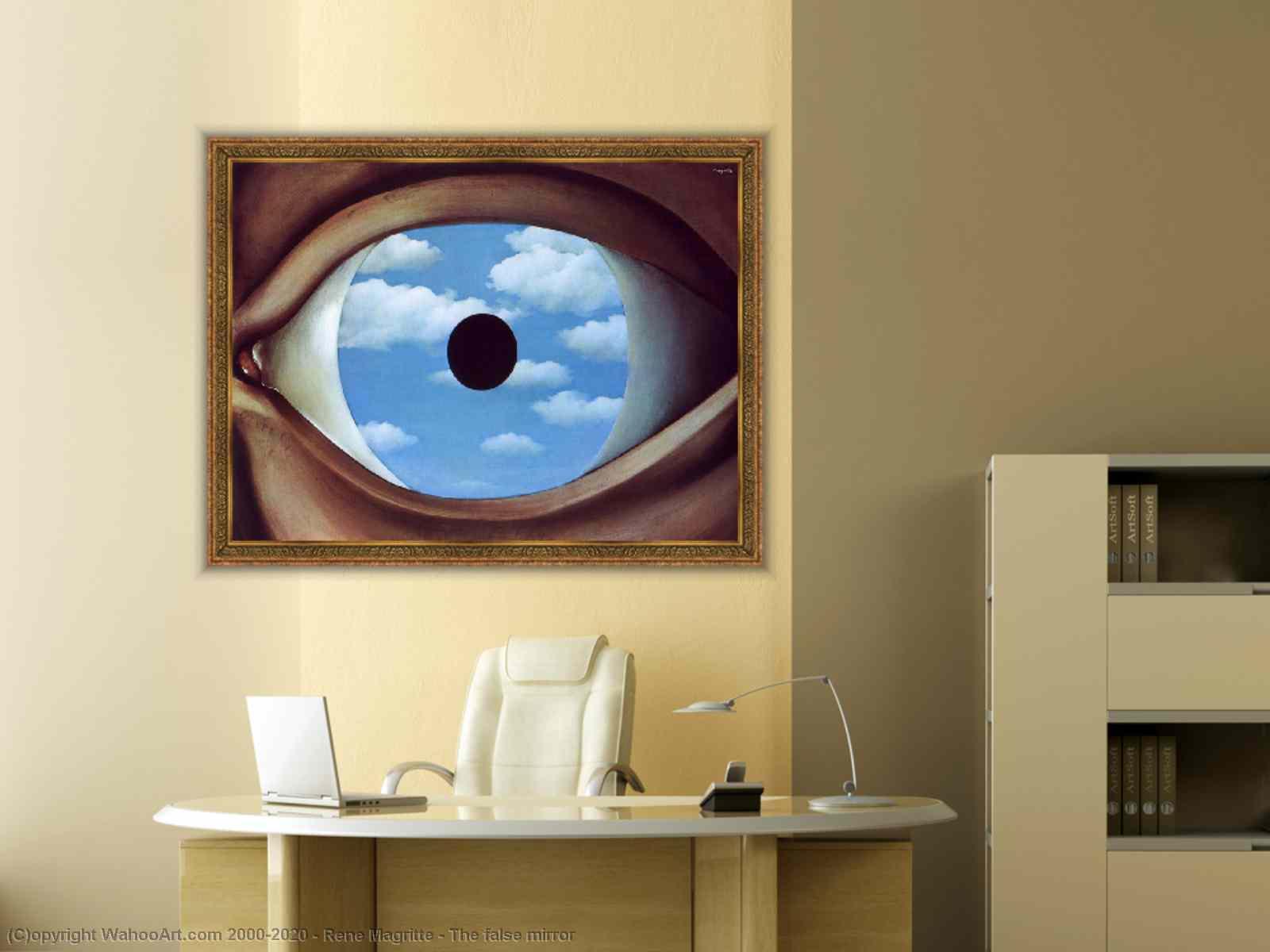 Il Falso Specchio.Il Falso Specchio Di Rene Magritte Buypopart Com
